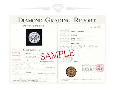 ダイヤモンドの鑑定書とは?
