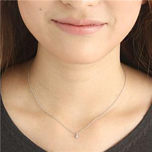 40cmチェーンのダイヤモンドネックレス