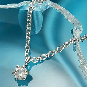 もうすぐ20代のダイヤモンドネックレス
