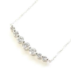 20代中盤から30代前半のダイヤモンドネックレス