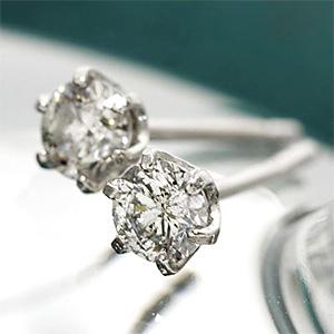 もうすぐ20代に似合うダイヤモンドピアス