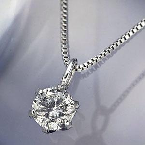 0.1ctダイヤモンドネックレス