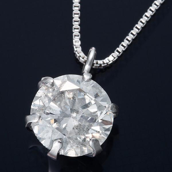 普段使いできる0.5ctダイヤモンドネックレス