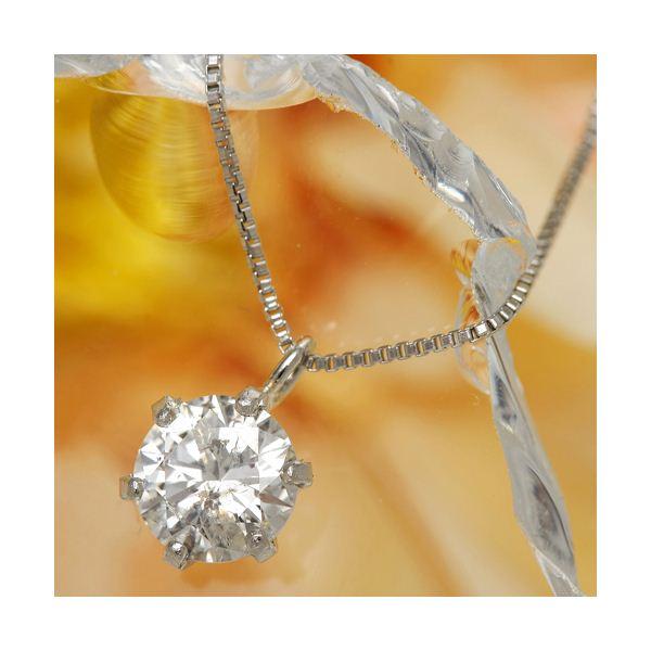 レビューが高得点の0.5ctダイヤモンドネックレス