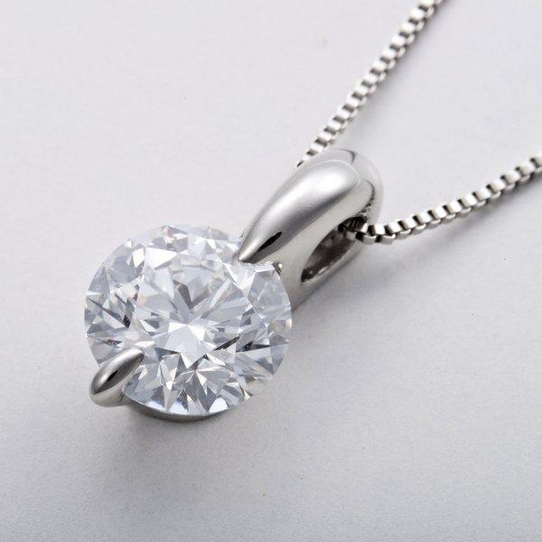 最高級ダイヤモンド鑑定書付き0.5ctダイヤモンドネックレス