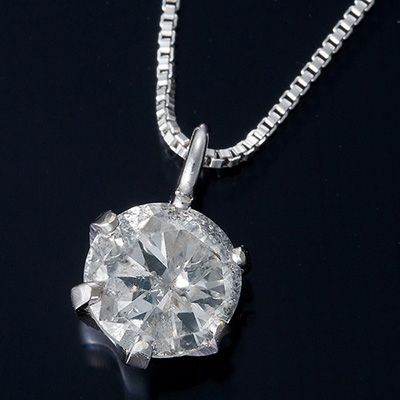 普段使いできて鑑別書付きの0.3ct一粒ダイヤモンドネックレス