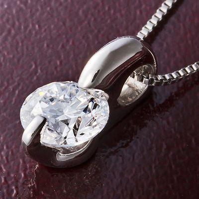 高品質IFクラスの0.3ct一粒ダイヤモンドネックレス