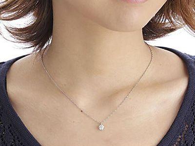 40代に似合う一粒ダイヤモンドネックレスの選び方